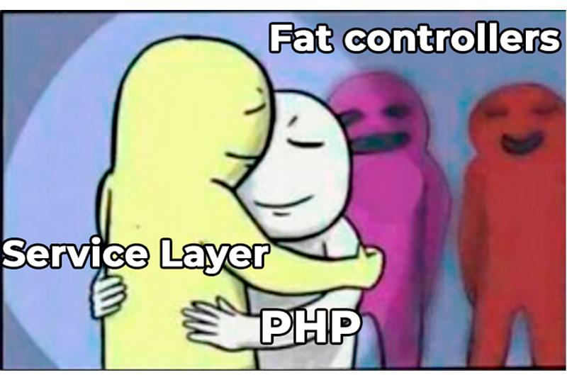 Сервисный слой (Service layer) в PHP