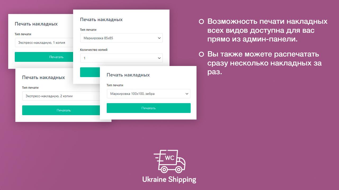 Плагін інтеграції Нової Пошти для WooCommerce - Зображення 5